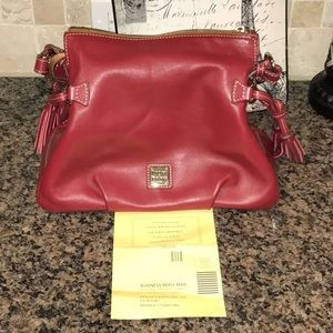 Dooney & Bourke's Teagan Mulberry Purse.